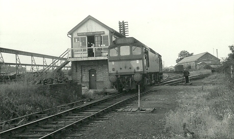 Hardingston Junction 1968