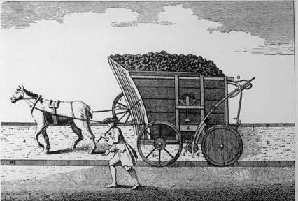 rail-pre-steam-horse-drawn-coal-wagon-on-rails_a-G-1872582-8880731